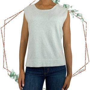 Akris Punto 100% Cashmere sleeveless pullover 12